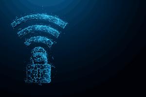 Wireless security symbol