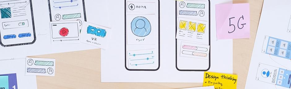 UX-UI collage